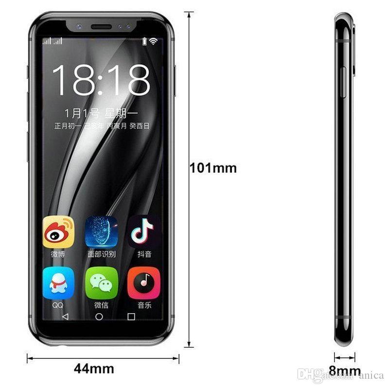 Telefones Mini celulares Smartphone K-TOUCH I9 Android8.1 3GB RAM 32GB ROM pequeno Dual SIM Original 4G LTE telefone Moviles Volte Desbloqueado chineses