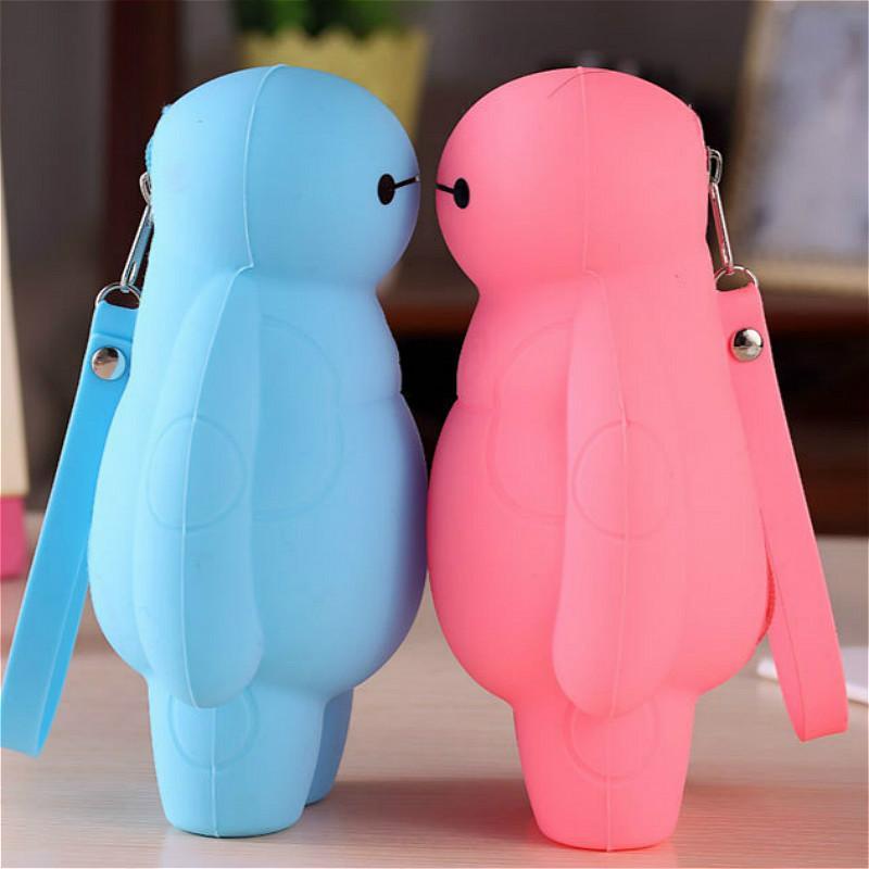 1pcs Big Blue Pen Bag Plush Purse New My Melody Plush Purses Soft Cinnamoroll Dog Stuffed Toys Bags Pendant Keychain Girls Gifts