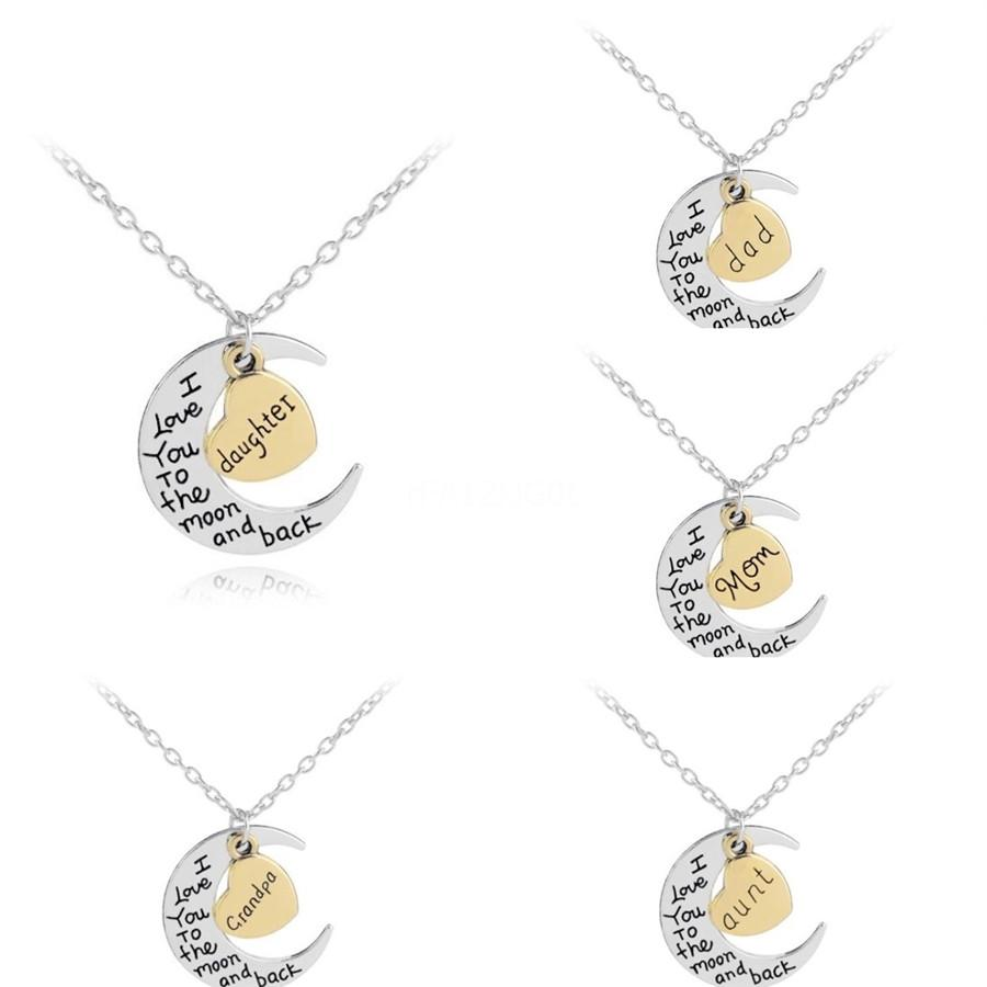 10Pcs Lot 2020 Ireland Hot-Selling English Letter Pendant Cute Letter D Text Necklace Gift For Girls Outdoor Jewelry#881