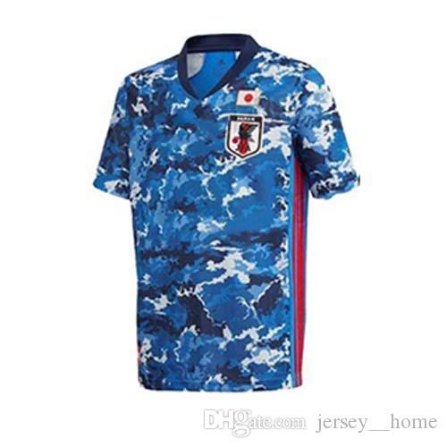 2021 World Cup Giappone Giappone Jersey 20 21 Tsubasa Home Blue Away White Soccer Camicia # 10 Kagawa # 9 Okazaki # 4 Honda Football Uniform