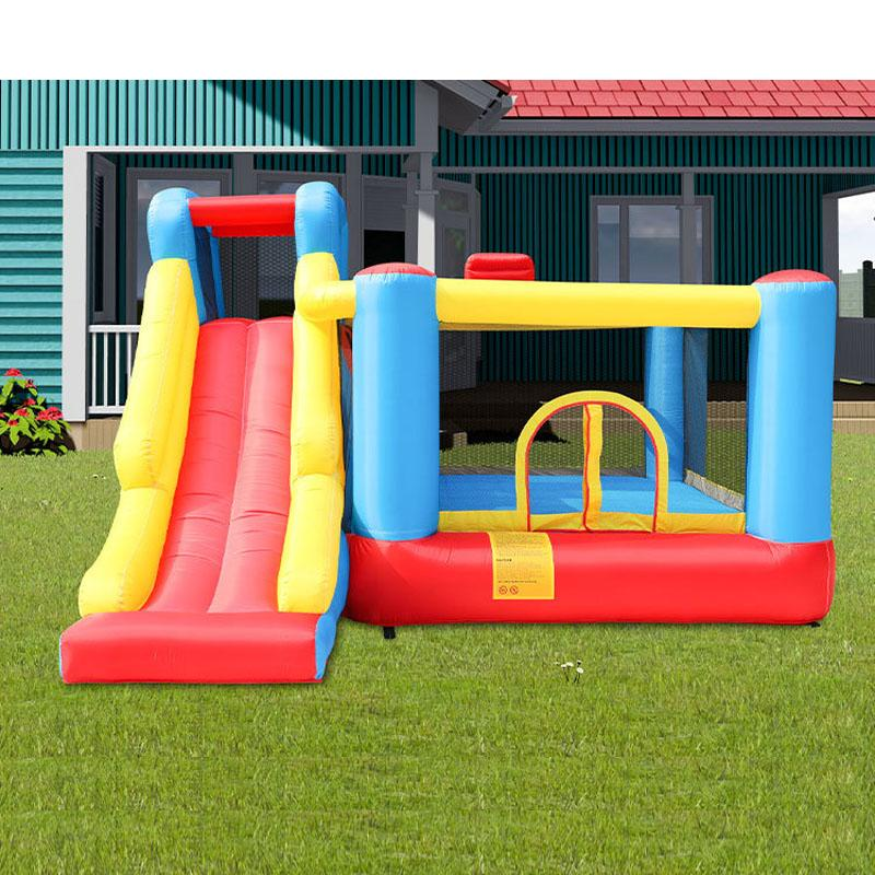 New Cheap Inflatable Castles Slides Bounce House With Slide Inflatable Castles China Dry Slide Combo for Fun Indoor Outdoor Party Play