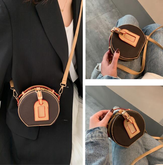 디자이너 아이 크로스 바디 높은 품질의 럭셔리 미니 귀여운 소녀 어깨 가방 패션 여성 핸드백 지갑은 여자 아기 가방 인쇄