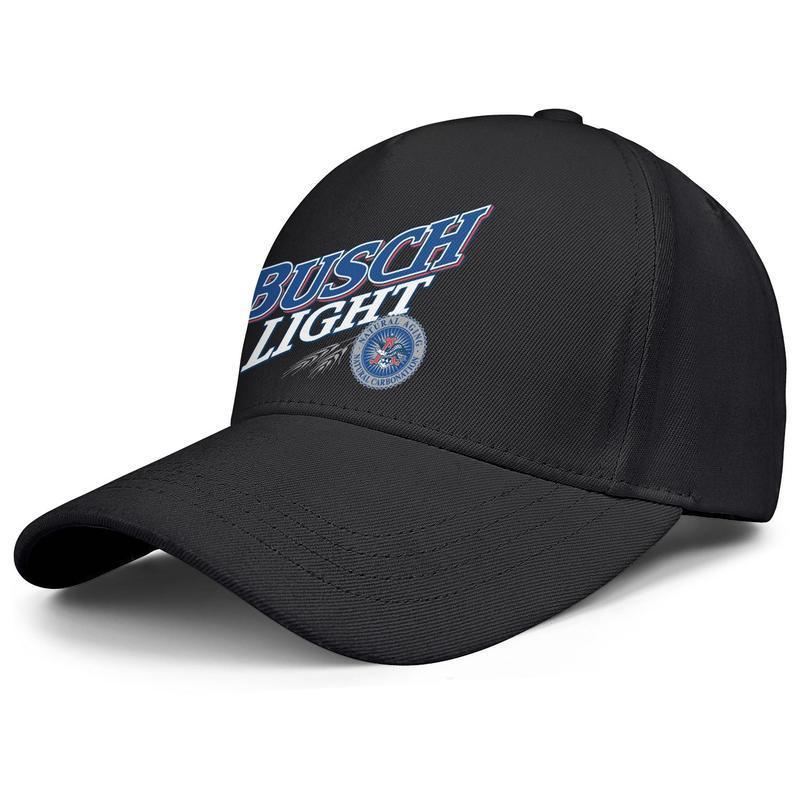 Буш легкий логотип мужские и женские регулируемая бейсболке имеется имеется симпатичный классический baseballhats столько светлого пива гурта синий белый