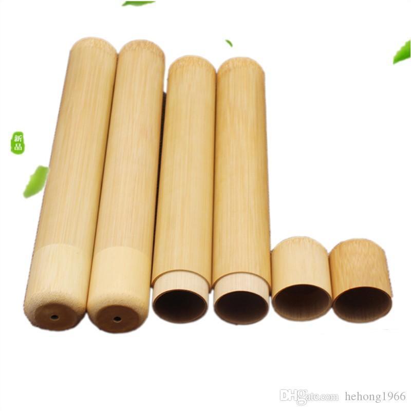 Cepillo de dientes caja de madera Cajas de almacenamiento portátil Admisión viaje saludable al aire libre Caso popular de adultos 5 35ar UU
