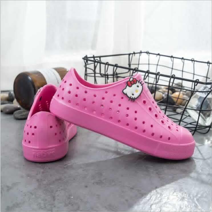 Vendita calda-adolescente nativo jefferson spiaggia scarpe sandali moda ragazzi ragazze native bambini pantofole scarpe taglia 28-44