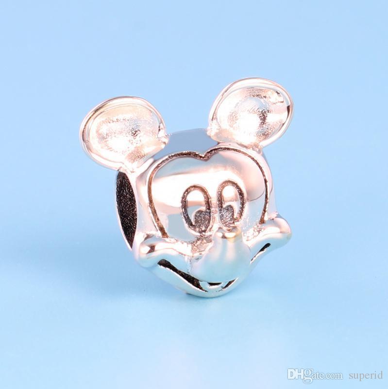 NUEVO clásico de alta calidad 925 Sterling Silver Charm Set Caja original para accesorios de joyería Pandora Pulsera Beads Charms