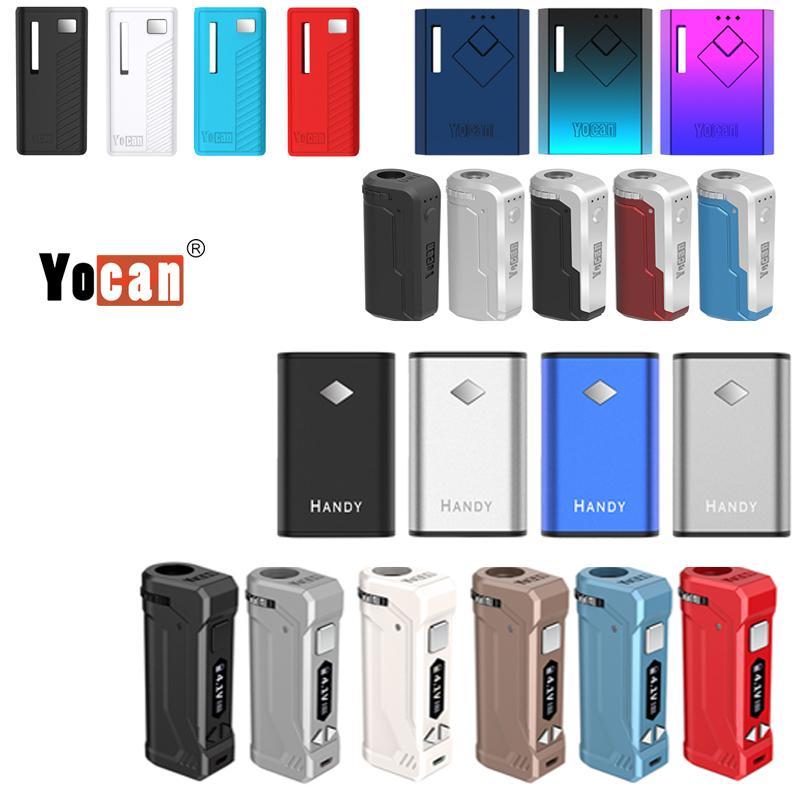 원래 Yocan Uni Pro Wit 편리한 그레이터 배터리 vape mod 전자 담배 적합 두꺼운 오일 카트리지 최신 디자인