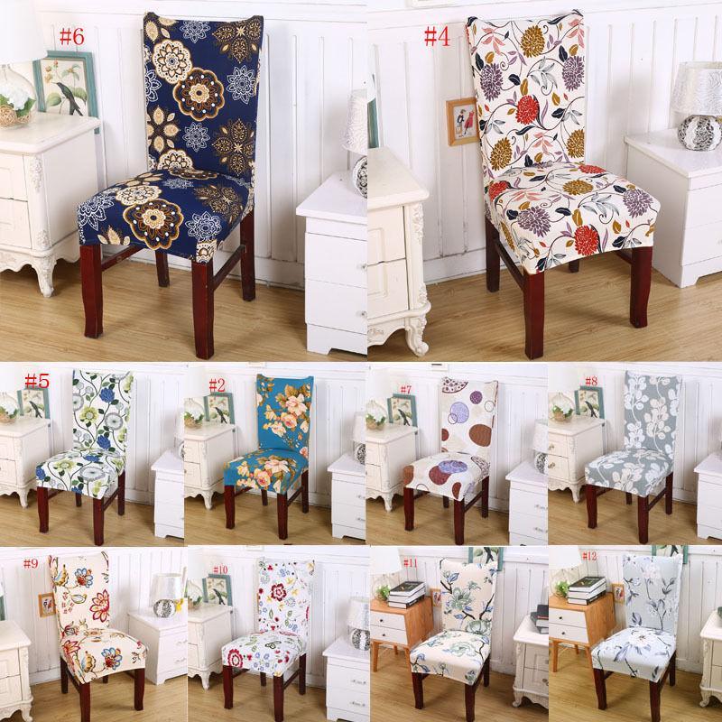 Stampa floreale coprisedie casa pasti multifunzionale Spandex della sedia della copertura Nuovo / e