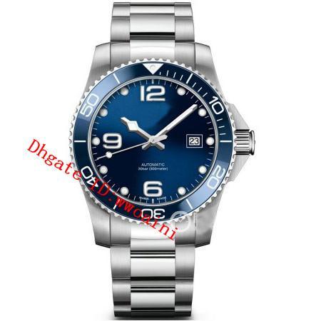 2019 Nuevo L3.781.4.96.6 Hombres Reloj de Lujo Top Brand Reloj Suizo Reloj de acero inoxidable Reloj Mecánico Automático Calendario relojes hombre