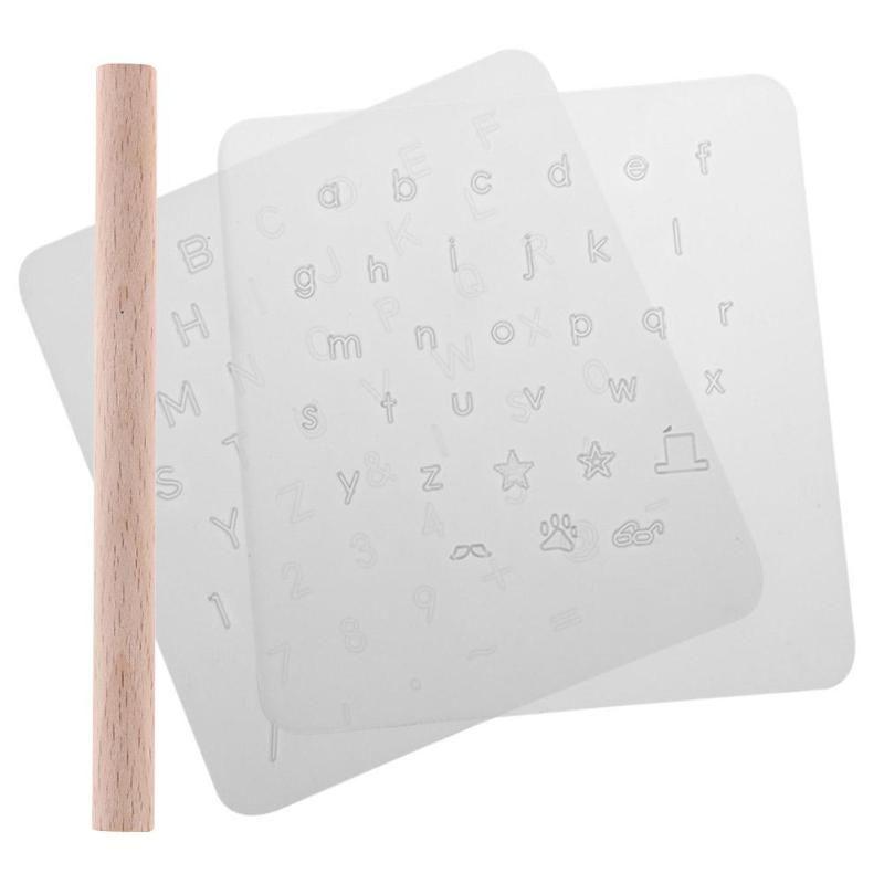 Números de alfabeto de perforación de cuero de bricolaje Punzón de estampado de cuero Número de letra Conjunto de estampador para herramienta de cuero de cuero Leathercraft