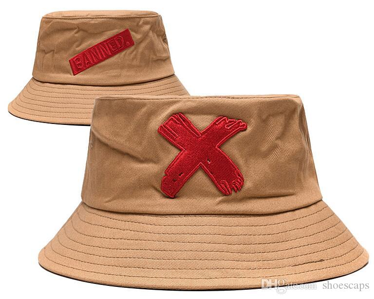 Moda Proibido balde cap Dobrável Tampas De Pesca polo Cloches cap Praia Sun Viseira Venda Folding Homem Bowler Cap Para Homens Mulheres de boa qualidade 00