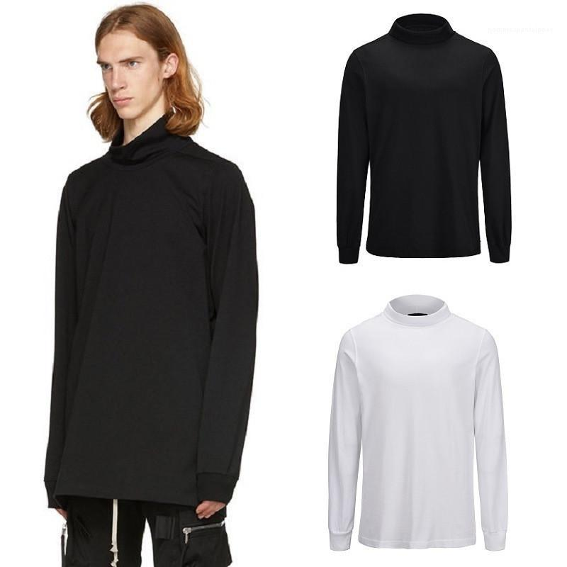 Solid Color Turtleneck Long Sleeve Knitted Sweatshirts Casual Slim Mens Clothing Fashion Mens Designer Sweaters Spring Autumn