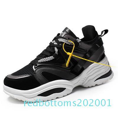 Marka Erkekler Rasgele Açık Ayakkabı Erkekler Eğitmenler Nefes Mesh Sneakers Man Unisex Ayakkabı Renkli Kalın Dip Erkek Ar01 Ayakkabı