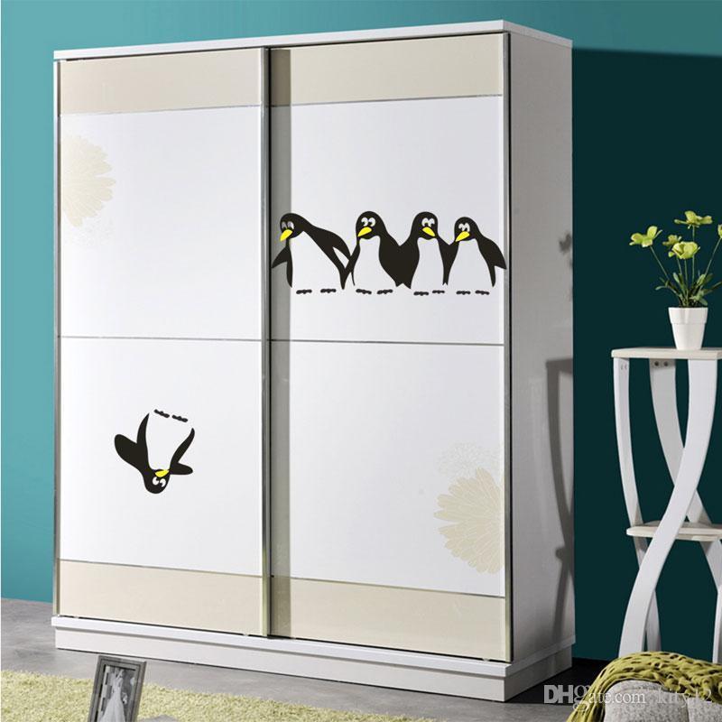 Penguins Wall Decal Kids Sticker Vinyl Sticker Wall Decal Kids Decor Decal Art Home Décor free shipping