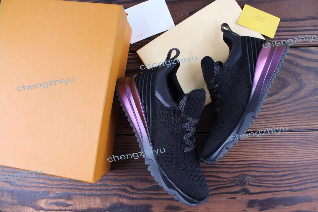 2019 Nouveau Designer populaire Top Qualité Homme Femme Mode Low Cut Lace Up Respirant Mesh Sneaker Chaussure En Plein Air Course Runner Casual Chaussure38-46