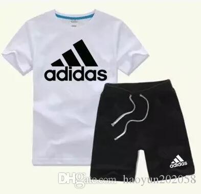 Sommer-T-Shirt Shorts Sport Anzug Set-Kind-Jungen-Baby-Kinderkleidung Se New Kinderbekleidung Kleinkind Junge Designerkleidung Jungen und Mädchen