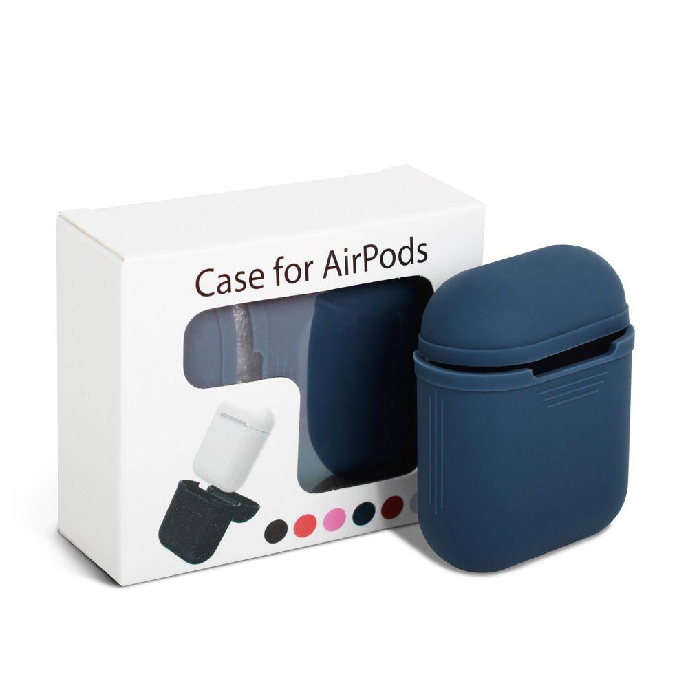الجملة Airpods سماعة حزمة سماعة مجموعة سيليكون سماعة واقية حالة ماء Dropproof الغبار 7 اللون متاح