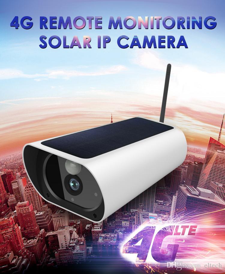 1080P كاميرا IP الشمسية 2MP اللاسلكية واي فاي الأمن مراقبة للماء في الهواء الطلق كاميرا الأشعة تحت الحمراء للرؤية الليلية الطاقة الشمسية HD كاميرا