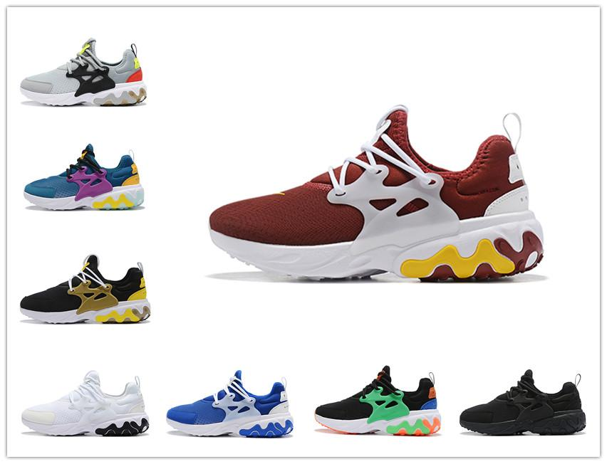 Sale 2020 presto men women running shoes triple black white red navy Teal Tint Barely Volt mens trainer breathable sports sneakers runner
