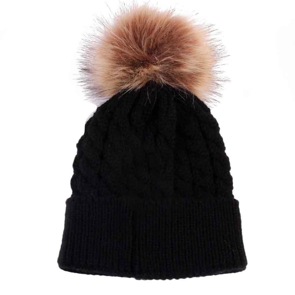 0-36 ay Bebek İyi bir seçim For You To Go Dış F804 için TELOTUNY Yenidoğan Sevimli Kış Çocuk Bebek Şapka Örme Yün Şapka Fit