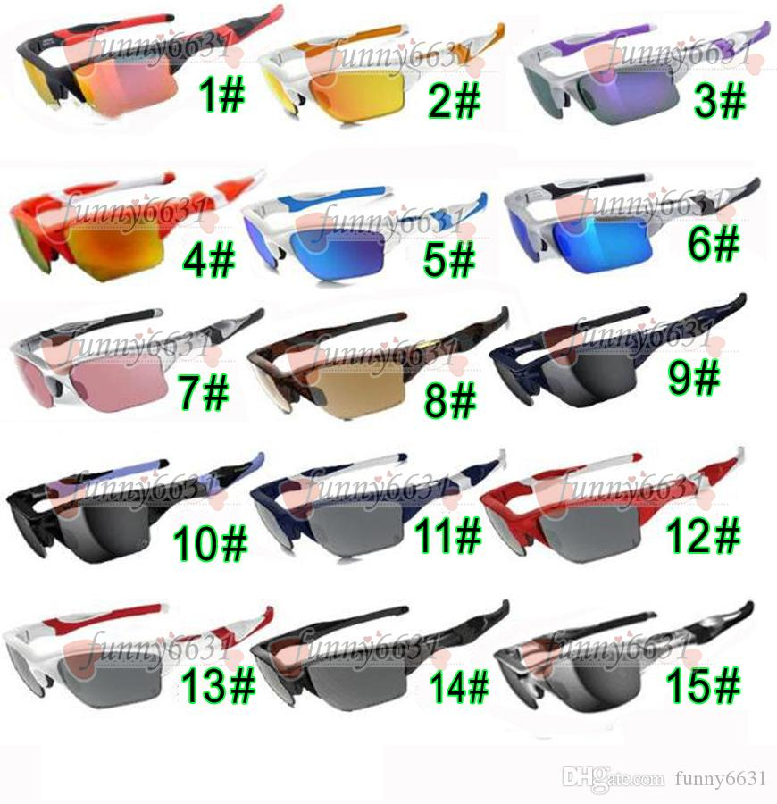 summer new Brand design man SPORT sunglasses 15colors woman cycling glasses outdoor driving sunglasses Dazzle colour glasses free shipping