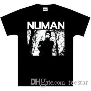 Gary Numan JAGGED Era maglietta Tubeway Army standard Fit alta qualità NUOVO