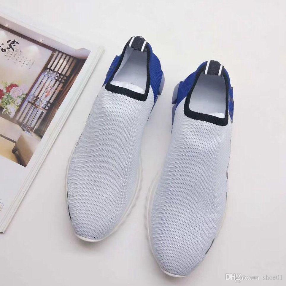 Kutu Sneaker Günlük Ayakkabılar Eğitmenler Moda Spor Ayakkabıları Yüksek Kalite Deri Çizme Sandalet Terlik Vintage Hava İçin Erkek Kadın D1804 ile