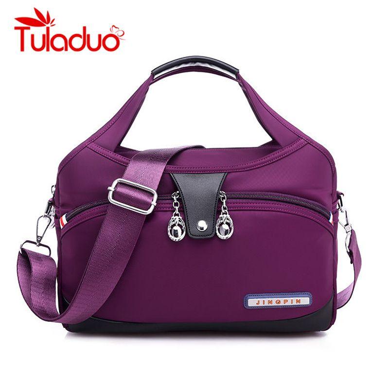 Nylon Large Women Messenger Bags Ladies Handbags Waterproof Female Shoulder Bags Designer High Quality Crossbody Bags For Women MX191108