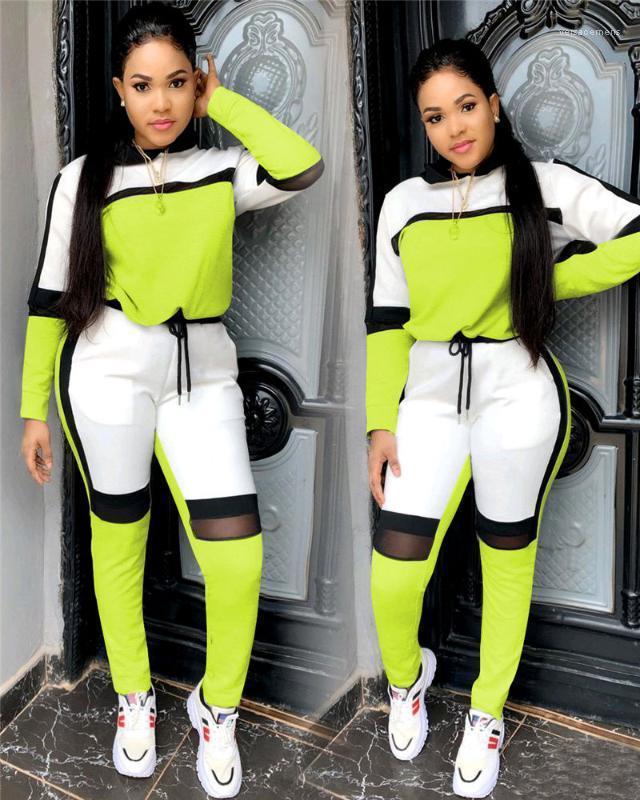 Спортивные костюмы панельные дизайнер выдалбливают 2шт мода женские костюмы перспектива Женская одежда модные женские повседневные