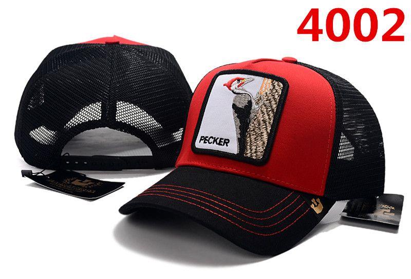 2019 جديد الحيوانات الأليفة الحيوانات مخصصة قبعة بيسبول مع الهيب هوب الشارع أزياء شخصية عالية الجودة أزياء نمط الحيوان الديك قبعة دروبشيبينغ