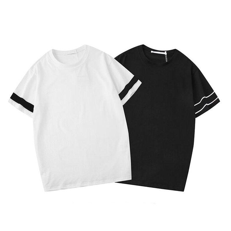 Casual Short Sleeves Men's T-Shirts Fashion Letter Design High Quality Men Women Hip Hop Tees Size S-2XL