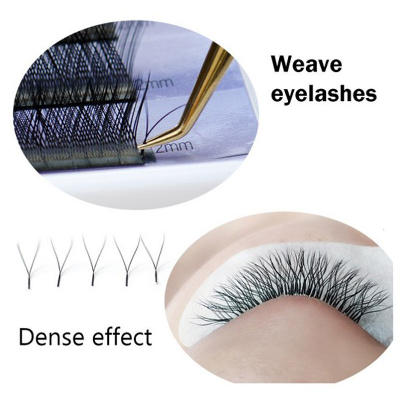 Volume Eyelash Extension Mink Lashes Y Shape High Quality Faux Mink Weave Lashes Soft Natural Easily Grafting