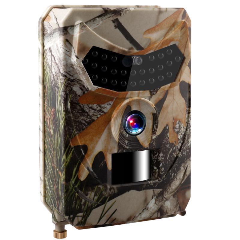 Wasserdichte 12MP Jagd-Hinterkamera 1080P Infrarot-Nachtsicht HD Video Cam 0,6 s Aufnahmezeit im Freien Jagd-Kamera