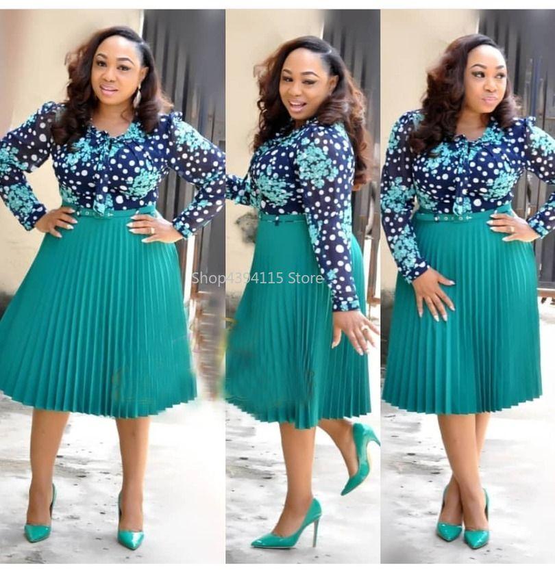 Yeni stil Afrika Kadın giyim dashiki moda Baskı bez elbise boyutu L XL XXL XXXL