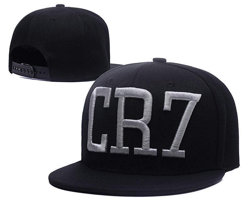 2016 Art und Weise Cristiano Ronaldo CR7 Baseballmütze Hip-Hop-Sport-Hysteresen Fußball Hut chapeu de sol Knochen Männer Frauen Hüte coupie