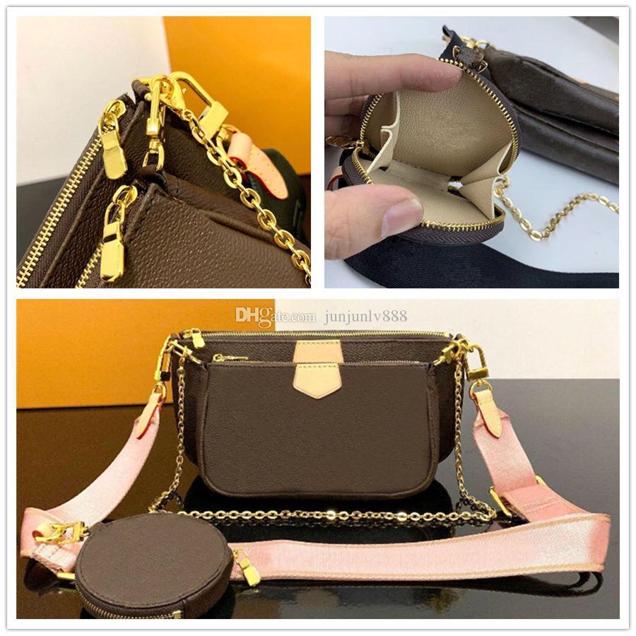 Le donne ad alta cuoio moda designer designer di lusso qualità borse borse borse borse da donna a catena a catena spalla per zaino borsa a croce borsa borsa LJVAG