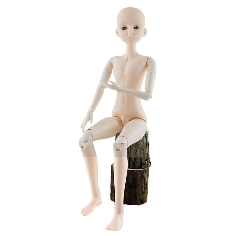 Nuovo 60 centimetri Uomini 21 Movable Giunti Bjd bambole giocattolo 3D fai da te Occhi trucco Maschio Nudo Nude Boy BJD Doll Toy for Girls regalo T200209