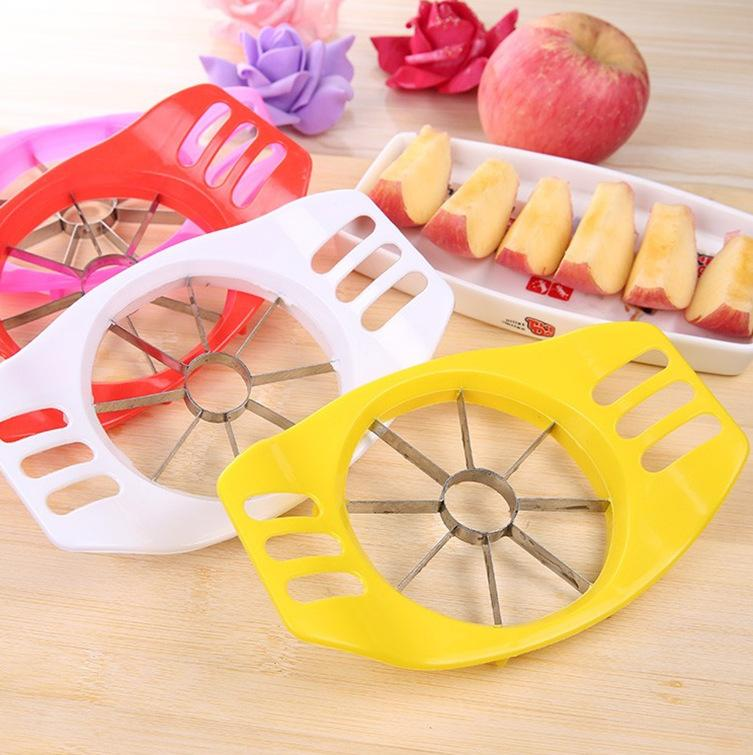 Apple Go Nuclear Cut Apple Piece Organ Stainless Steel Apple Fruit Cutter Fruits Cut A Stall With Goods Spread Out On The Ground For Sale