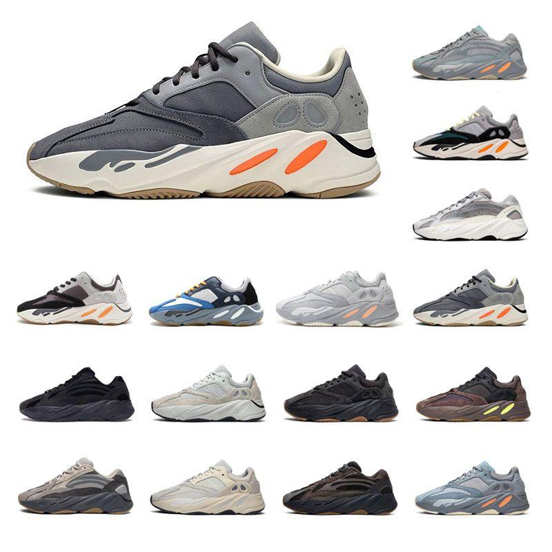 2019 700 2 V Kanye West Wave Runner Vanta Analog Static Inertia Fest Grau Mauve Damen Lauf Herren Sneaker Sport Sneakers Outdoor-Schuhe