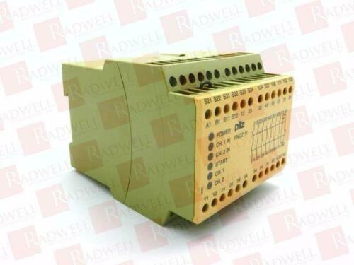 PILZ PNOZ-11-230-240VAC-24VDC-7N/O-1N/C / PNOZ11230240VAC24VDC7NO1NC (USED TESTE