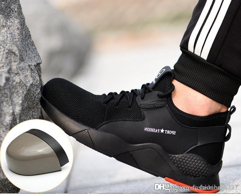 2020 Safety Shoe Women Mens Steel Toe