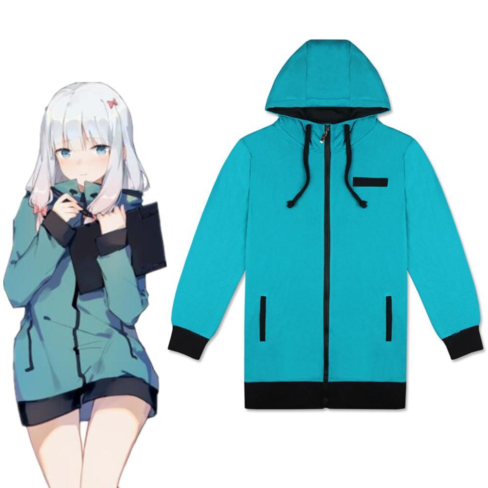 Eromanga Sensei cosplay Izumi Sagiri Jacket Hoodie Cosplay Costume Halloween