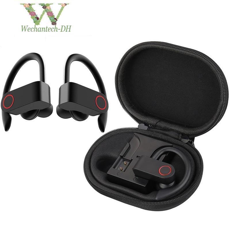 A9 TWS inalámbrico Deportes Auriculares Bluetooth 5.0 auriculares del gancho del oído Correr cancelación de ruido auriculares estéreo con micrófono impermeable