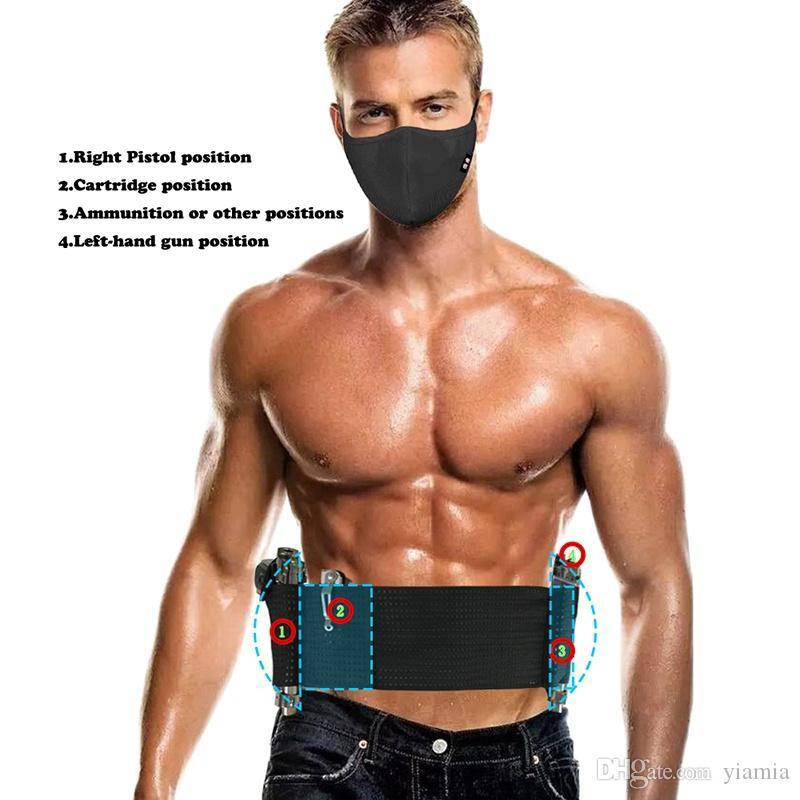 Alta elastico impermeabile Cintura Ajustable della vita del gancio di sostegno Fitness Gym Torna Vita Supporter Protezione Sicurezza nuovi sport