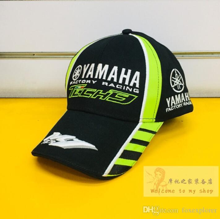 Гонки MotoGP Yamaha новый мотоцикл гонки кепка летнее солнце шляпа свободного покроя бейсболка рыцарь шлем вентилятора