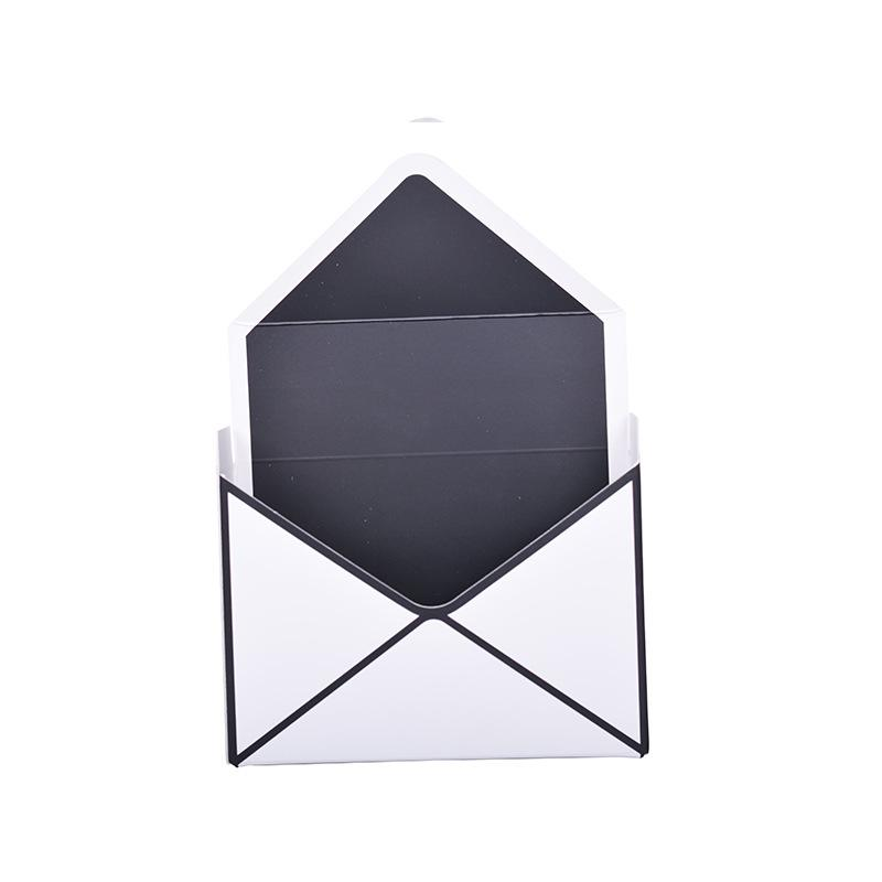 Swell Flowers Round Dot Gift Box Stripe Envelope Type Bouquet Boxes Folding Creative Paper Gray Black Fashion Hot Sales 4 4Xy C1 Gift Wrapping Available Pdpeps Interior Chair Design Pdpepsorg