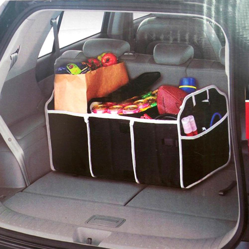 Auto Accessories Car Organizer Trunk Collapsible Toys Food Storage