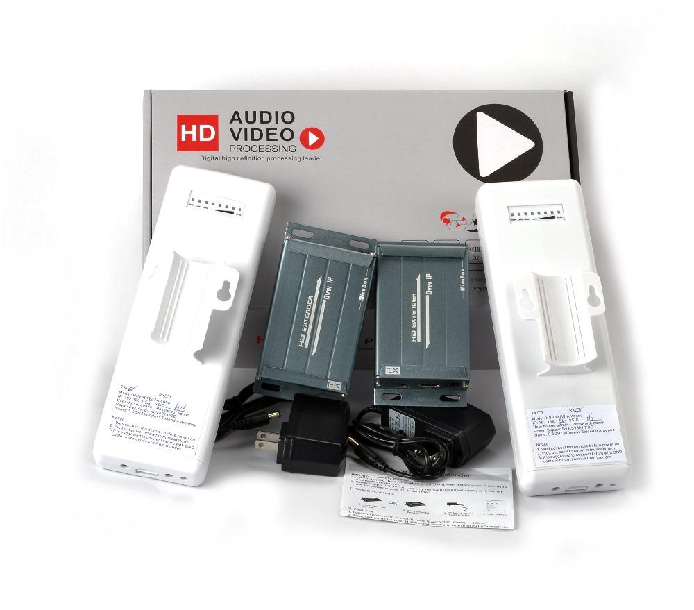 HSV891W 1080P 5.8GHZ wireless hdmi extender with audio extractor compatible with HDCP can extender 150~300m indoor (10)