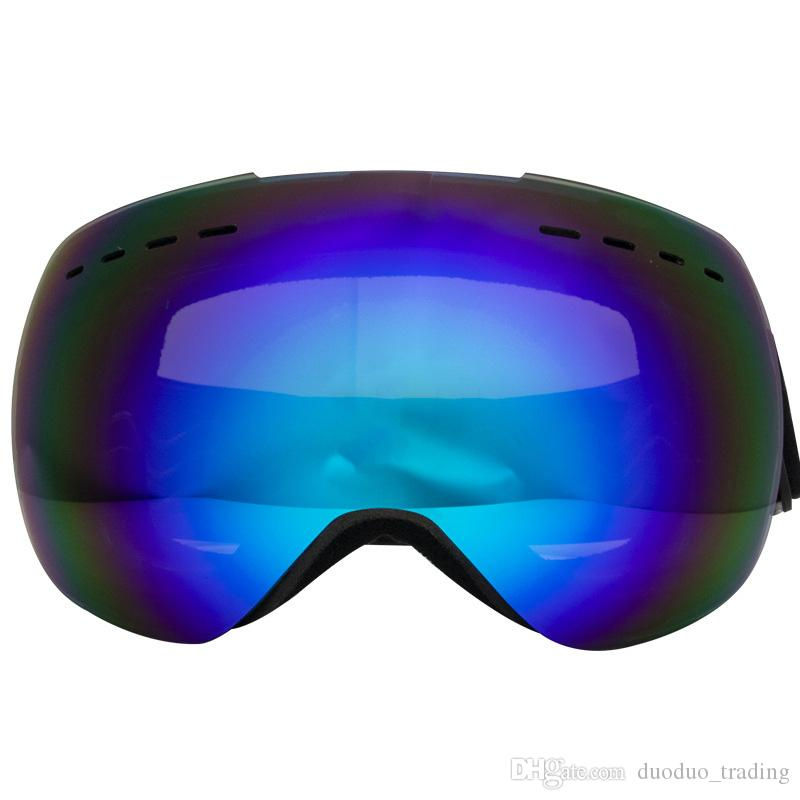Ski Glasses color Lens UV400 Anti-fog Ski Goggles Snow Skiing Snowboard Motocross Goggles Ski Masks Eyewear personality Trend goggle