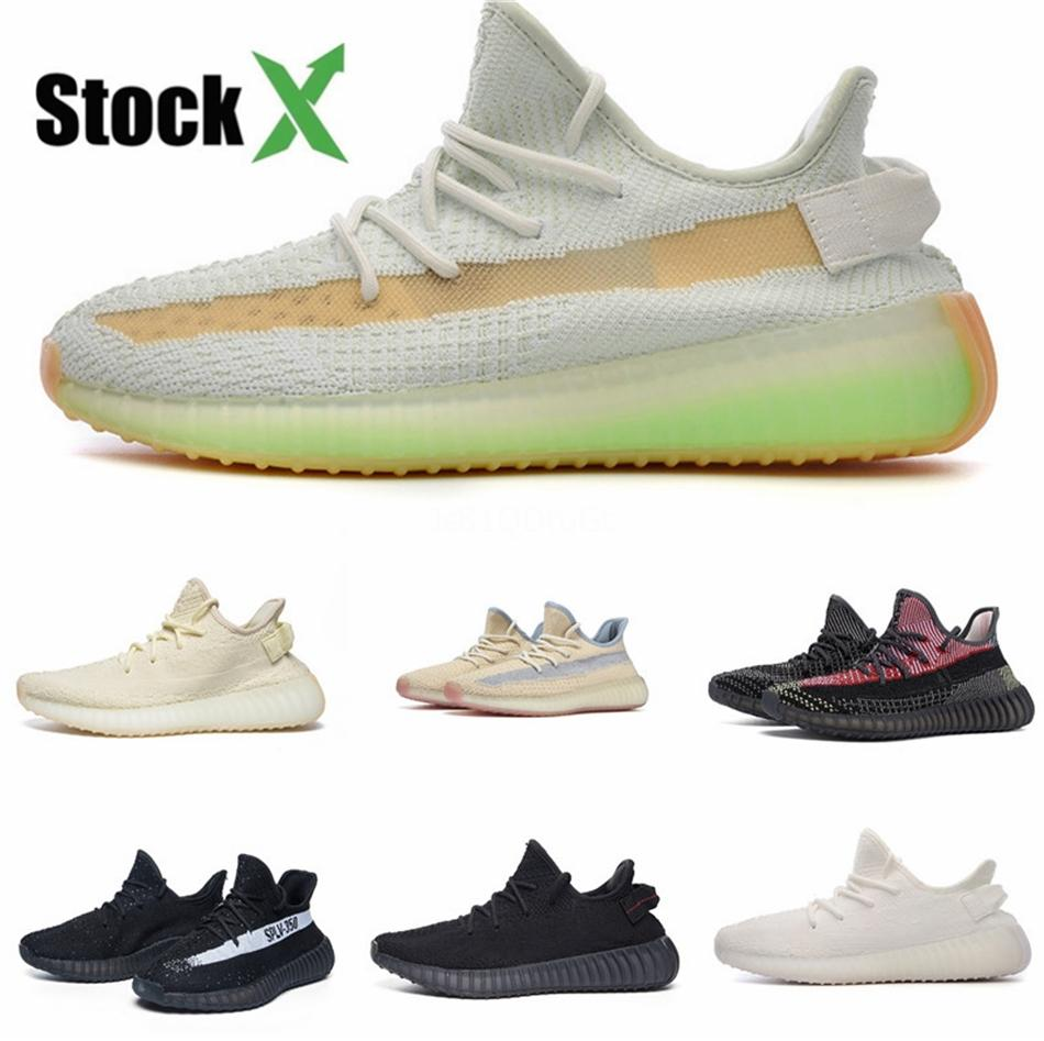 (With Box) 2020 Kanye West 2 Ii Nrg Black Grey Red October Basketball Shoes For Men Glow In The Dark Mens Trendy Sneakers #QA826